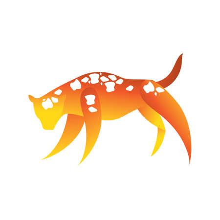 puma: puma animal Illustration