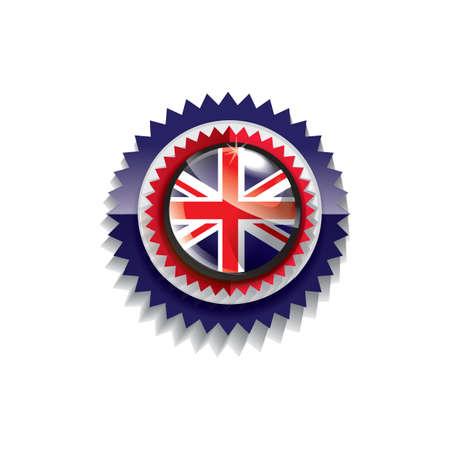 kingdom: united kingdom flag label