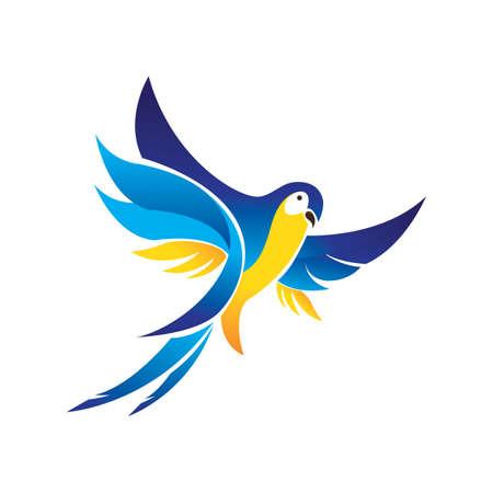 macaw: blue macaw