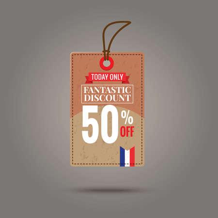fantastic: fantastic discount tag