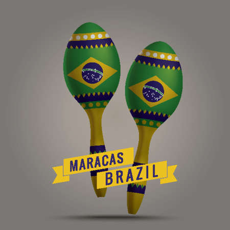 maracas: maracas Illustration