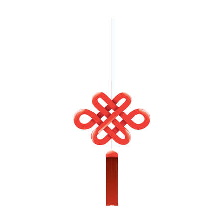 chinese knot: chinese knot Illustration