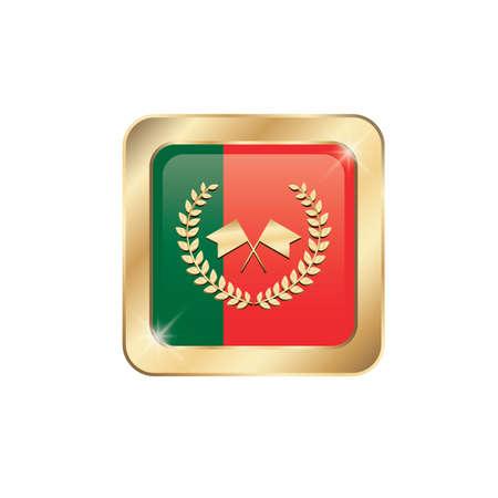 bandera de portugal: icono de la bandera de Portugal