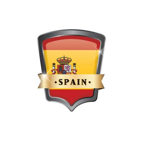 spain flag: spain flag icon