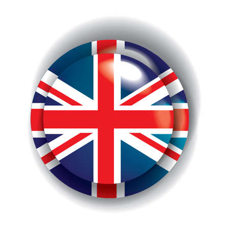 of the united kingdom: united kingdom flag button