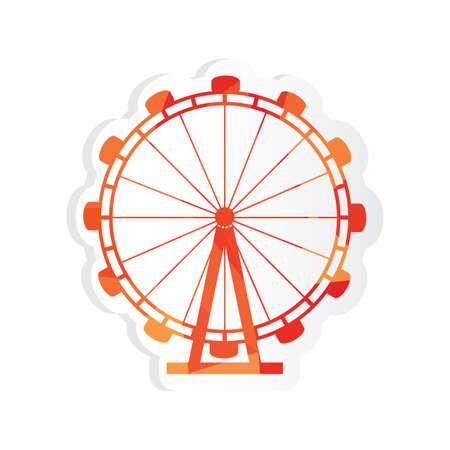 london eye: london eye sticker