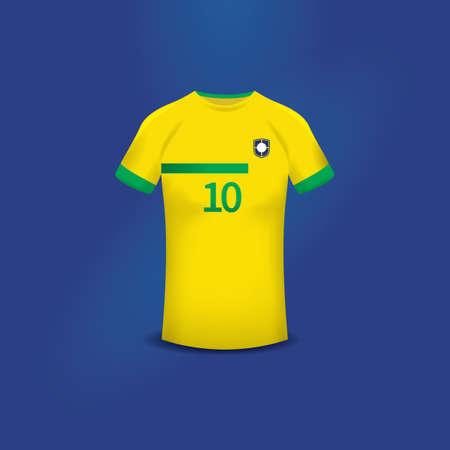 jersey: soccer jersey Illustration