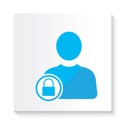 user privacy icon Ilustração