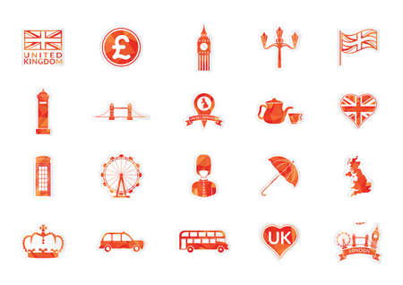 phonebox: united kingdom icons
