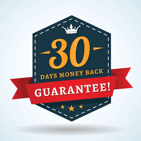 30 days money back guarantee Imagens - 49726094