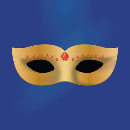 eye mask: carnival eye mask Illustration