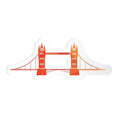 tower bridge: tower bridge sticker