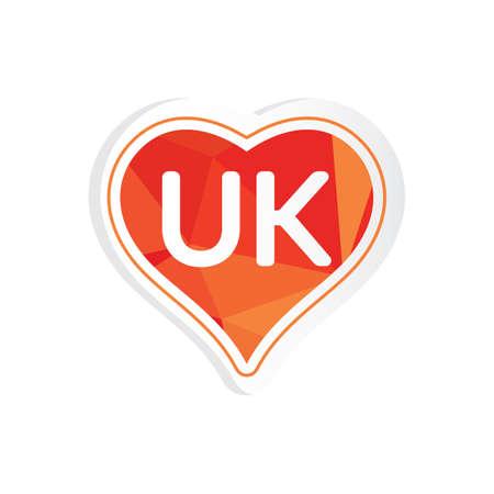 united kingdom: united kingdom sticker Illustration