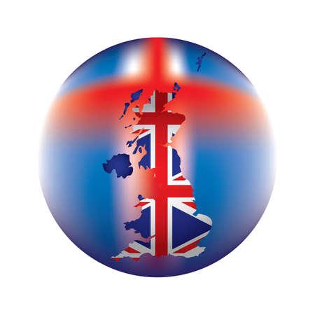 uk: uk flag map icon