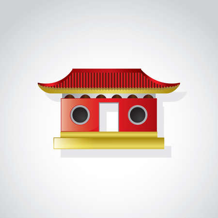 built structure: chinese temple