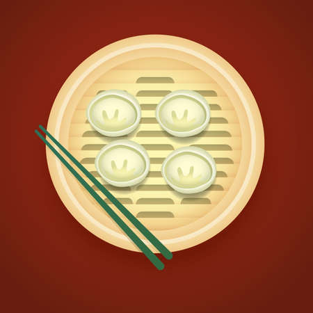 dim: dim sum Illustration