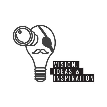 anticipation: vision ideas and inspiration Illustration