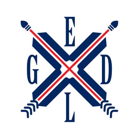 bandera reino unido: Emblema de la bandera del Reino Unido