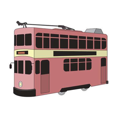 tram Stock Vector - 49726760