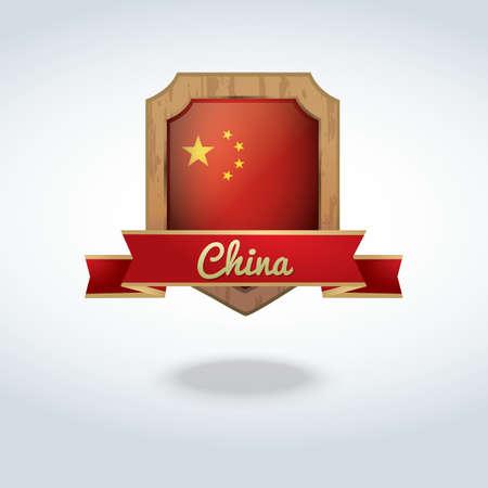 china flag: china flag icon