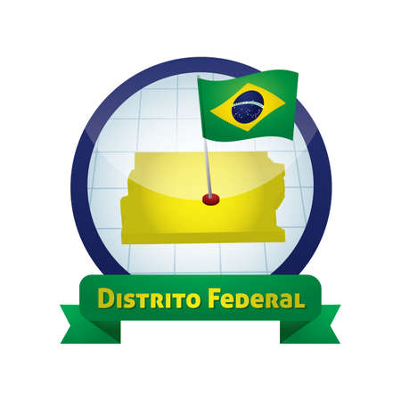 federal: distrito federal map