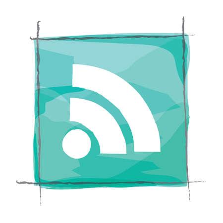wireless signal: wireless signal icon Illustration