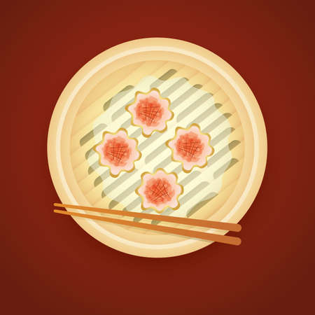 dim sum: dim sum Illustration