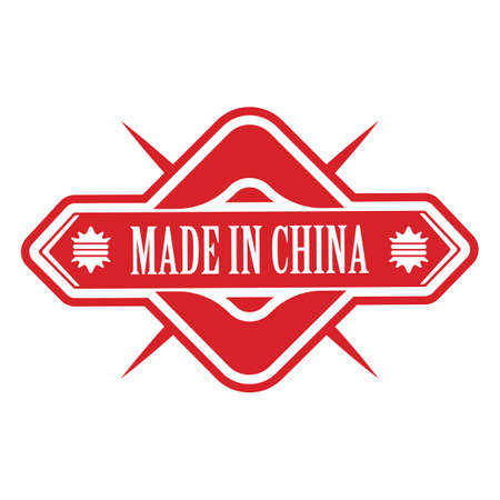 made in china: made in china label