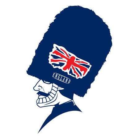 royal guard: uk royal guard Illustration