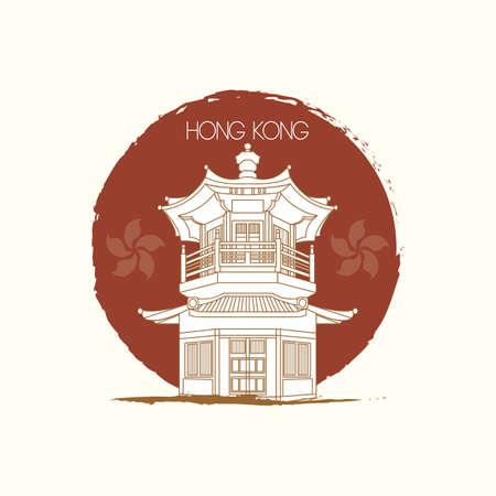 pagoda: pagoda Illustration