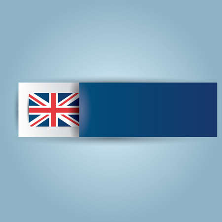 of the united kingdom: united kingdom banner Illustration