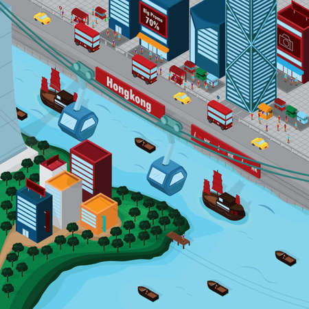 junk boat: hong kong wallpaper