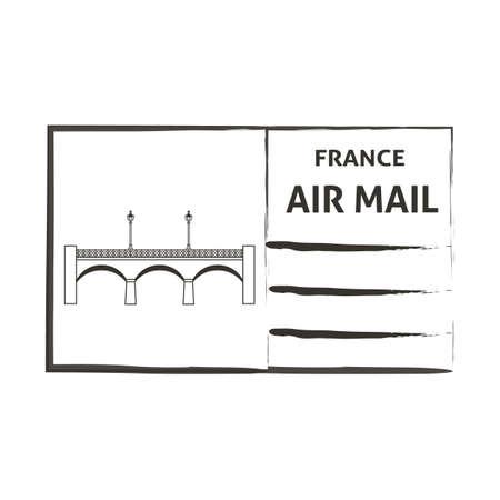Frankrijk luchtpost