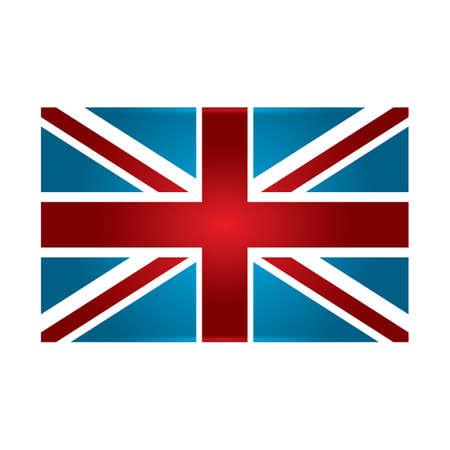 bandera uk: bandera del Reino Unido