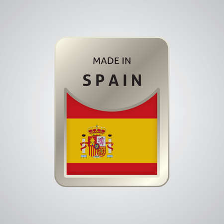made in spain: made in spain badge