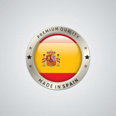 made in spain: made in spain badge