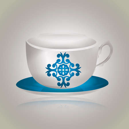 saucer: cup with saucer