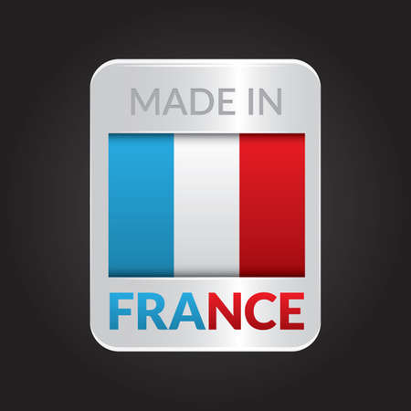 authenticity: made in france Illustration