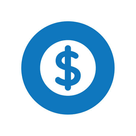 dollar icon: dollar icon Illustration