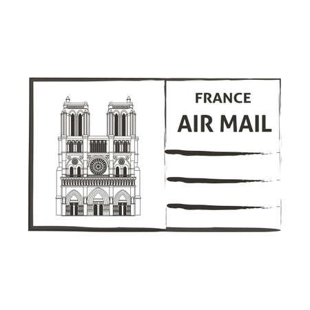 air mail: france air mail