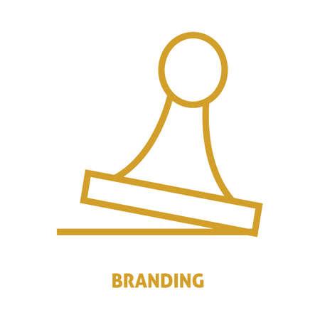 basic scheme: branding Illustration