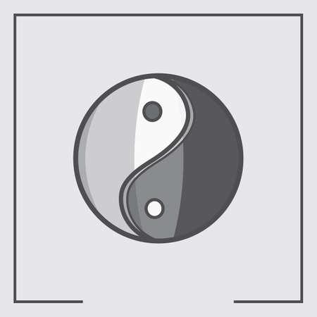 yang: yin yang Illustration