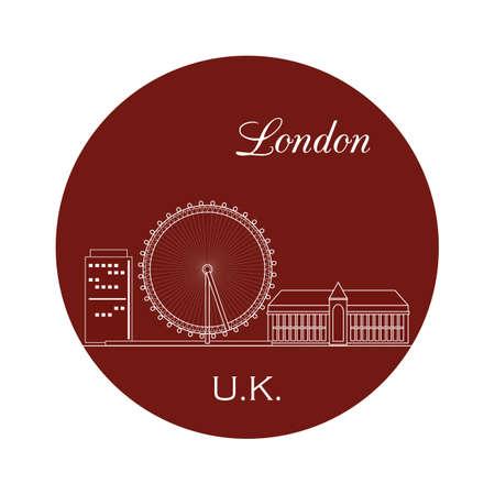 london eye Illustration