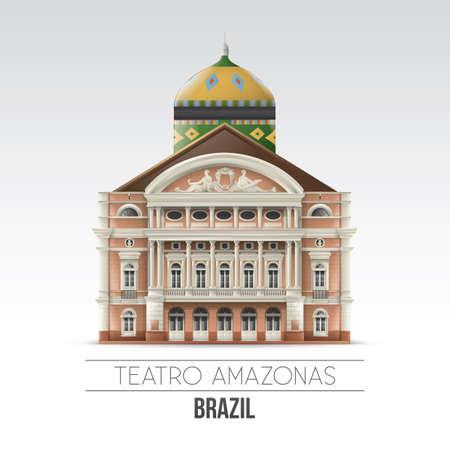 country house: teatro amazonas