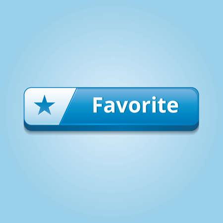 favorite: favorite button Illustration
