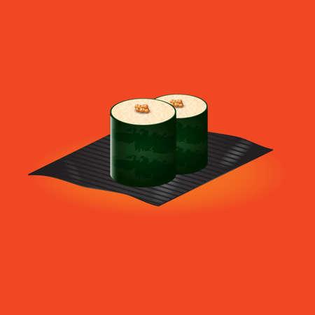 nori: sushi maki roll