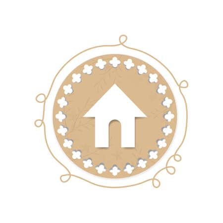 home icon: home icon Illustration