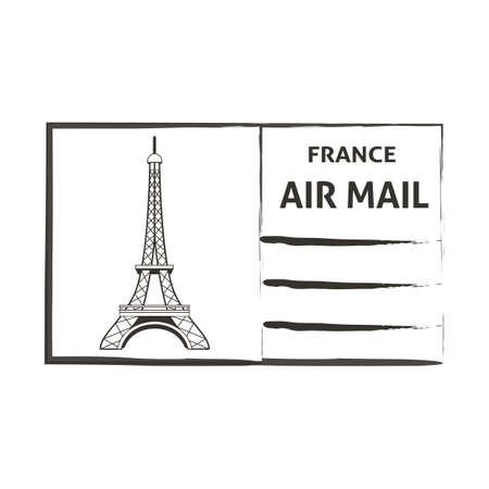 mail: france air mail