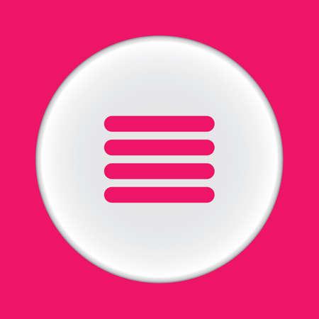 the icon: menu icon
