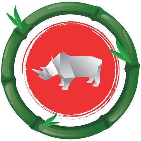 rhinoceros: origami rhinoceros